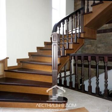 Обшивка бетонной лестницы с пригласительными ступенями, г.Ногинск