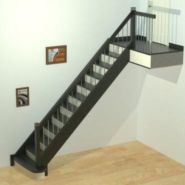 "Лестница ""Модерн"" прямая"